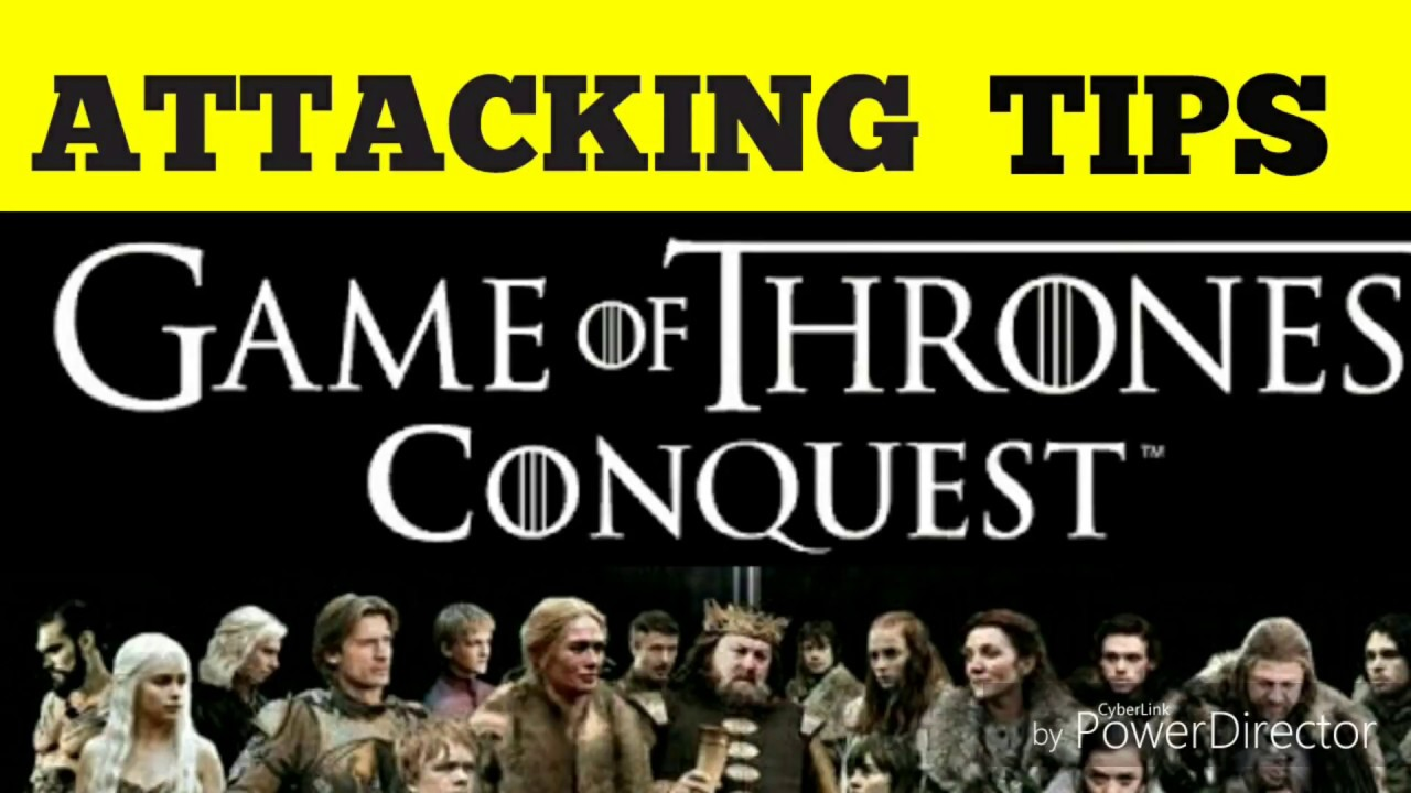 Game Of Thrones Conquest Tips : Attacking - YouTube