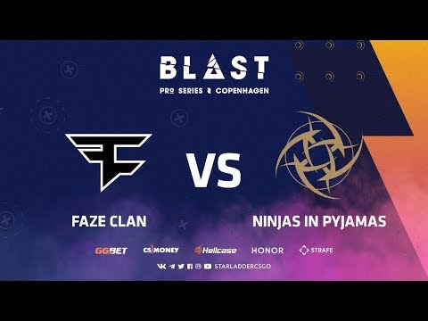 [RU] FaZe vs NiP | Map 2: Dust2 | Grand final | BLAST Pro Series: Copenhagen 2019