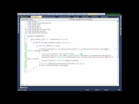 C# ASP.Net Blog Yapma Part 4 - Cemal Can AKGÜL