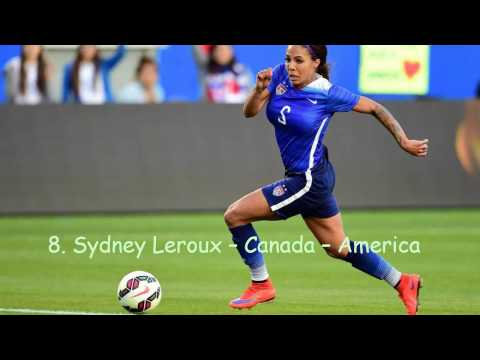 10 Best Female Soccer Players 2017 Greatest Female Football Player
