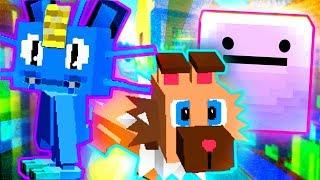 Minecraft PokeCube LEGENDARY QUEST - DITTO ATTACKS!? (Minecraft Pokemon Mod)