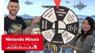 Spin the Wheel! w/ Super Smash Bros. Ultimate - Nintendo Minute