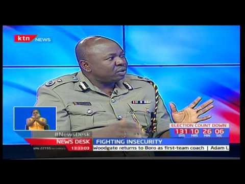 One On One With Police Spokesman Charles Owino On Banditry Matters In Laikipia County