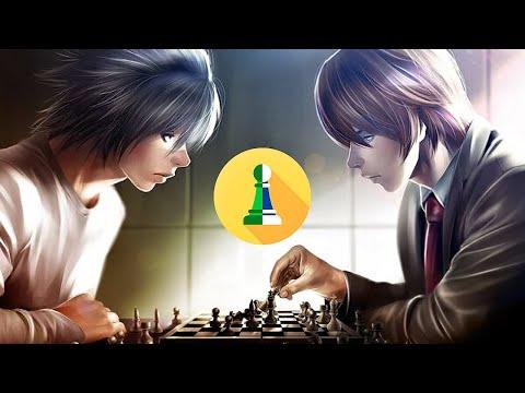 Kira X L (Deathnote) Jogando Xadrez
