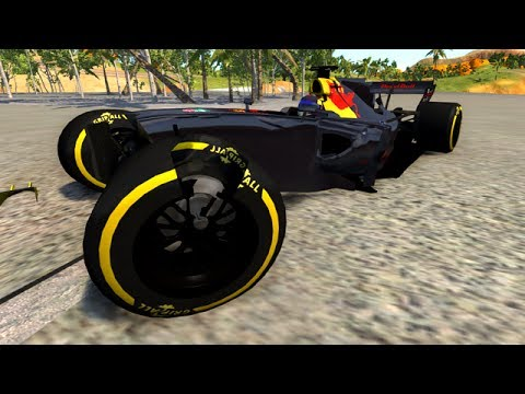 CRASHING MY NEW F1 CAR