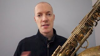 vlog88 the story of my tenor saxophone
