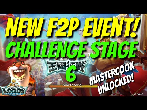 F2P Hero Event Challenge Stage 6 Walkthrough - Lords Mobile