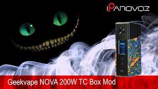 Огляд NOVA 200W TC від Geekvape. Сильний, але легкий