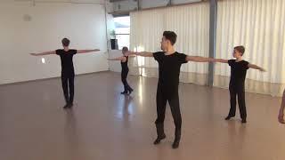 """Открытый урок - мужской класс - народный танец - АНО ХШ """"Аллегро"""""""