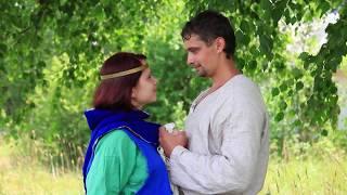 Необычный свадебный клип непохожий на другие! Клип Love story. Купальская свадьба.