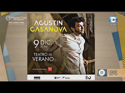 Agustín Casanova en el Teatro de Verano