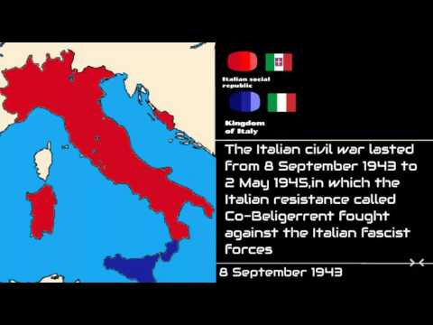 Italian civil war:Every day