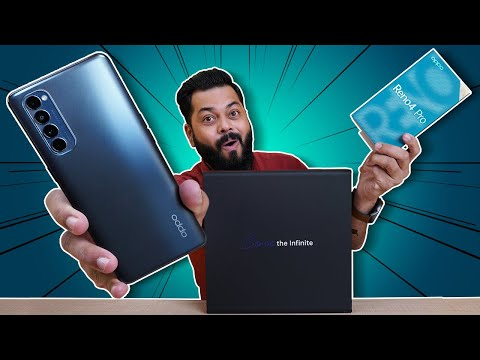 OPPO Reno 4 Pro Unboxing And First Impressions ⚡⚡⚡ 90 Hz AMOLED📱, 65W Fast Charging🔋 & More