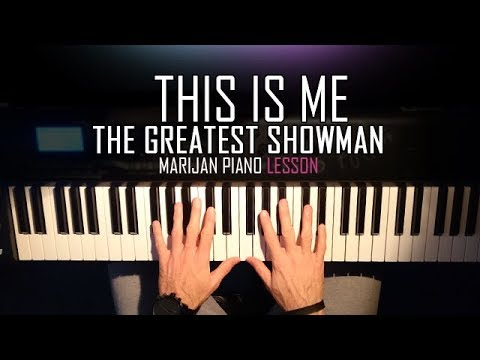 How To Play: The Greatest Showman - This Is Me | Piano Tutorial Lesson + Sheets