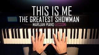 Download Lagu How To Play: The Greatest Showman - This Is Me | Piano Tutorial Lesson + Sheets Mp3