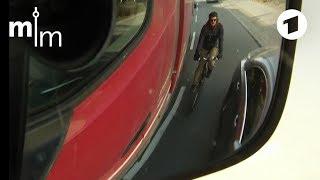 Radfahrer im toten Winkel