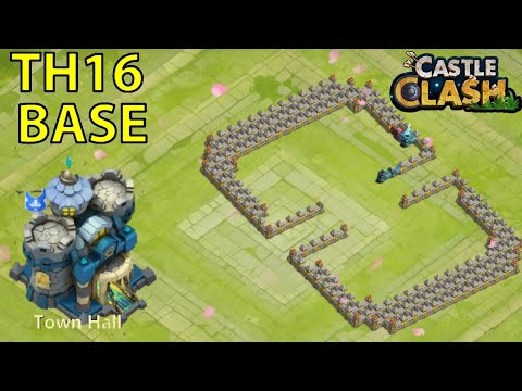 CASTLE CLASH-TH16 BASE