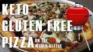 Keto Gluten Free Pizza On The Weber Kettle