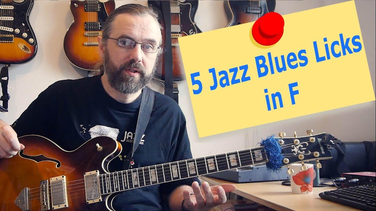 5 Jazz Blues Licks in F - Jens Larsen