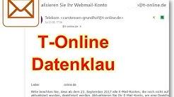 T-Online Datenklau: Aktualisieren Sie Ihr Webmail-Konto Cloud Server