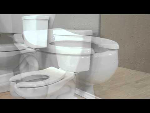 Toilets: Baby Devoro FloWise 10-inch High Toilet By American Standard - New
