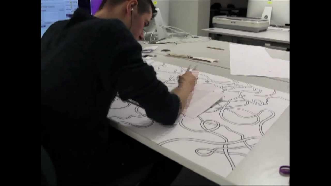 Poster design process - Poster Design Process Timelapse Mov