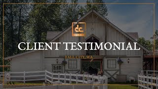 Custom Wood Barn In Fall City, Wa - Client Testimonial | Dc Building