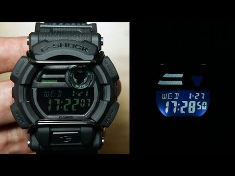 e0e7f5c78de9 Casio G-shock GD-400MB-1  FULL BLACK EDITION - YouTube