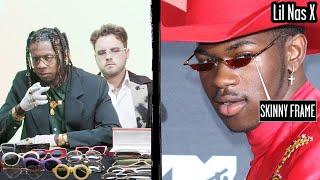 Glasses Experts Break Down Celebrity Sunglasses (Lil Nas X, Elton John) Part 1 | Fine Points | GQ