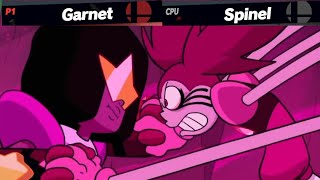 Download Garnet (Assisted by Pearl & Amethyst)  VS Spinel but it's Smash Ultimate Mp3 and Videos