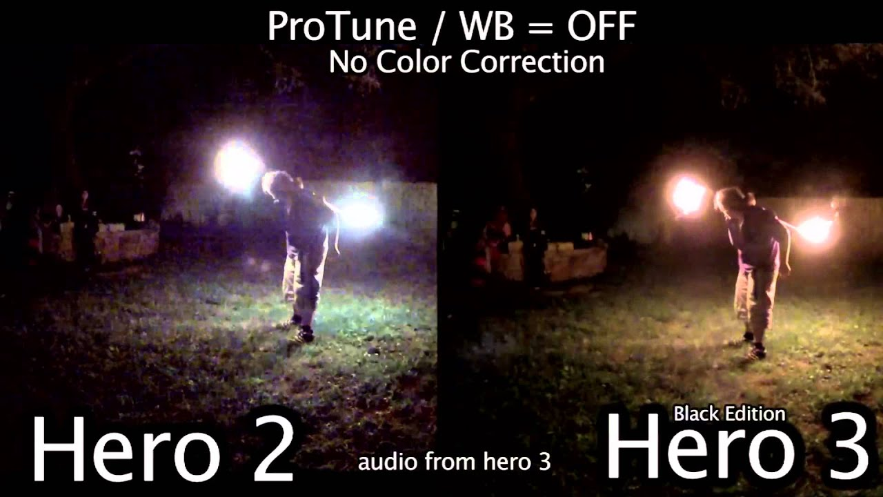 sc 1 st  YouTube & GoPro Hero 2 / 3 Low Light Comparison - GoPro Tip #90 - YouTube azcodes.com