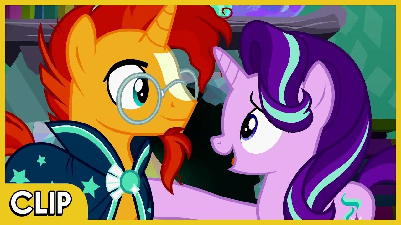 Sunburst And Starlight Open Up MLP Friendship Is Magic