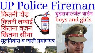 UP Police fireman 2019