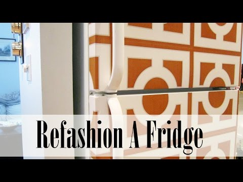 DIY Project: A Refashioned Fridge