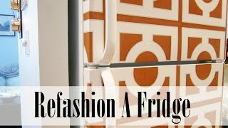 DIY Project: A Refashioned Fridge