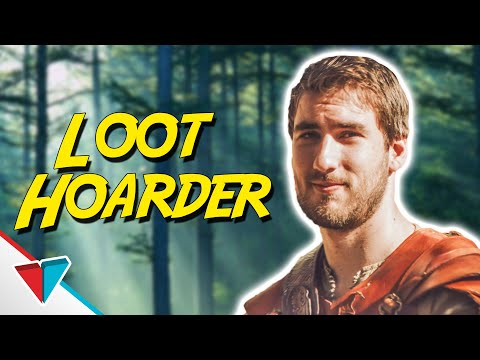 Loot Hoarder - (Video Game Logic) EPIC NPC MAN - VLDL