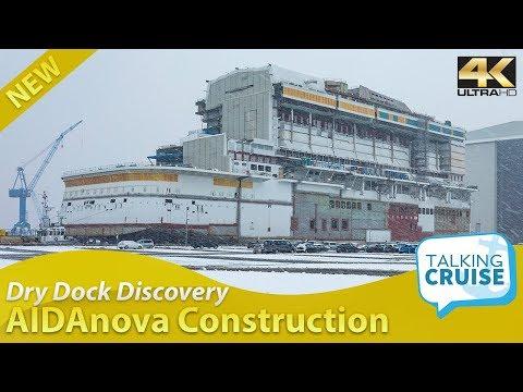 Dry Dock Discovery – AIDAnova Construction Update
