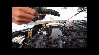 Byt tändstift / Replace spark plugs Alfa Romeo 156 1.8 ts 1998
