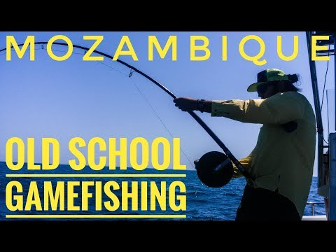 Old School Couta Fishing - Mozambique