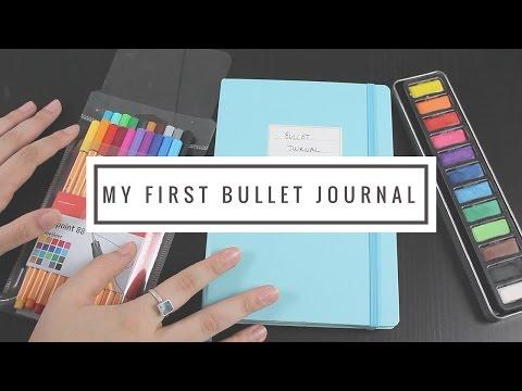 My First Bullet Journal: Flip Through// 📘