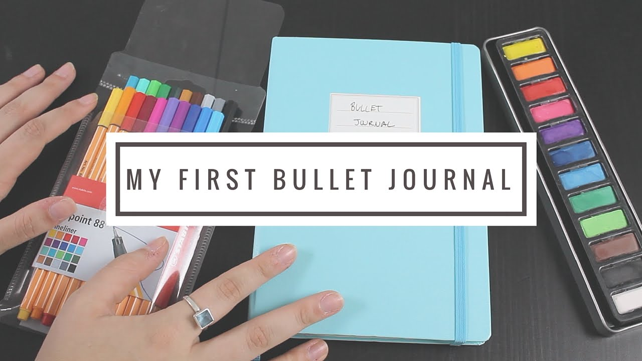 my first bullet journal flip through youtube. Black Bedroom Furniture Sets. Home Design Ideas