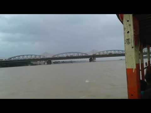 Dakshineswar to Belur moth travelling to Boat in Ganga