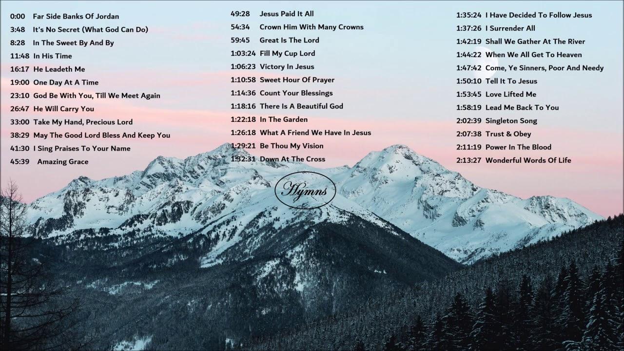 Gospel & Hymns FAR SIDE BANKS OF JORDAN 10 Hours Background Music by Lifebreakthrough