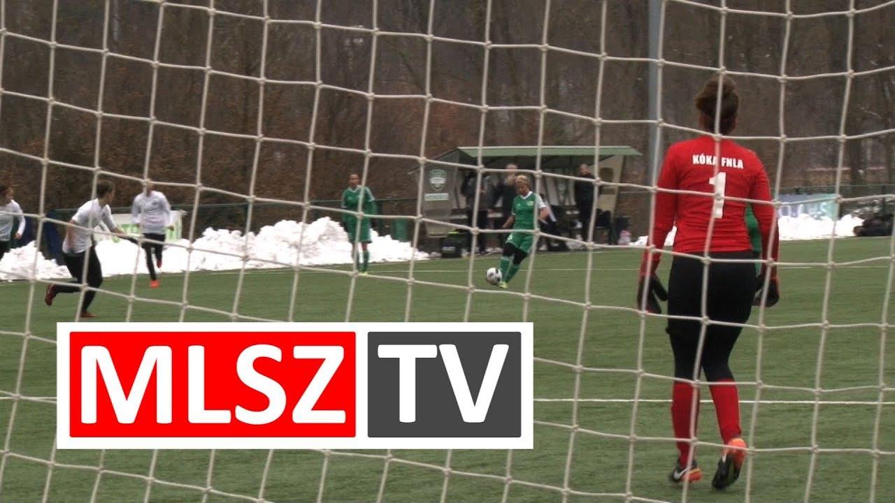 Haladás Viktória - Kóka FNLA | 3-0 | JET-SOL Liga | 14. forduló | MLSZTV