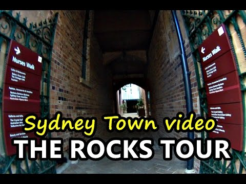 SYDNEY the ROCKS TOUR