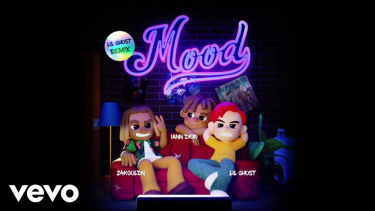 24kGoldn, iann dior, Lil Ghost - Mood (Lil Ghost Remix - Official Lyric Video)