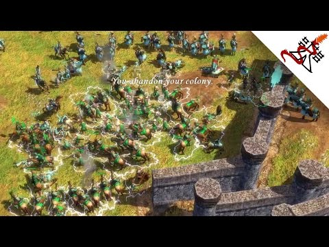 Age of Empires 3 - 8 Players Free for All MADNESS | Multiplayer Gameplay