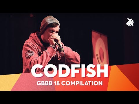 CODFISH  Grand Beatbox Battle Champion 2018 Compilation
