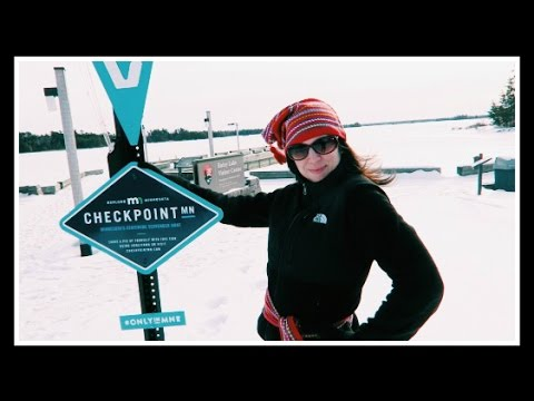 NORDIC WOMAN SPOTTED! [Checkpoint MN Virtual Geocaching #6]