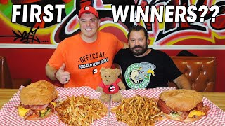Undefeated Panda Grill Burger Challenge in Oklahoma City!!
